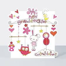Congrats Baby Card New Granddaughter Cards A New Granddaughter Congratulations New Baby Granddaughter Card New Baby Card Birth Congratulations Card