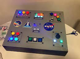 NASA control panel lights up kids' imaginations