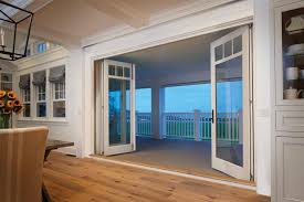 Panels of a Bifold Door Folded Open | Marvin Photo