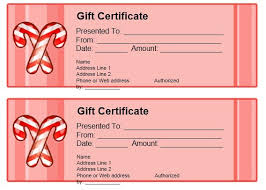 Google Docs Gift Certificate Template Googke Docs Gift