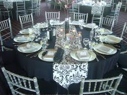 reception table ideas. Epic Image Of Dining Room Decoration With Various Black And White Table Setting Ideas : Fair Reception N