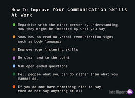 Seven Ways To Increase Your Communication Skills At Work