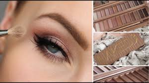 <b>URBAN DECAY NAKED 3</b> EYESHADOW PALETTE TUTORIAL ...
