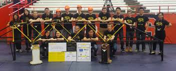 Civil Students Prove Their Mettle In Steel Bridge Competition