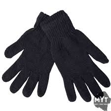 details about mens thermal warm heat insulator glove stretch knitted winter 1 pair of gloves