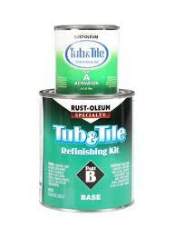 Shop Rust Oleum Tub And Tile Refinishing Kit White Online In