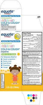 Equate Childrens Cold Cough