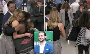 Serena Williams snubs fiance after Australian Open win | Daily ...