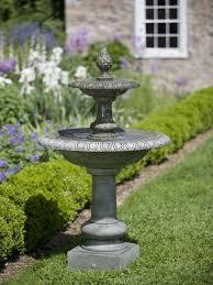 tier garden water fountain
