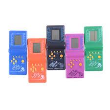 Cổ Điển Mới Máy Chơi Game Cầm Tay Máy Tetris Gạch Trò Chơi Trẻ Em Máy Chơi  Game Với Trò Chơi Phát Nhạc Mà Không Cần Pin|Electronic Pets