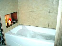 one piece tub and surround bathroom installation simple and secure with bathtub surround in one piece