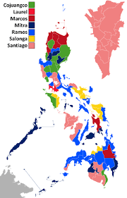 Presidental Election Results 1992 Philippine Presidential Election Wikipedia