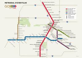 Twin Cities Light Rail Map Transit Maps Bus Rapid Transit