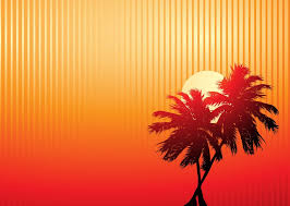beautiful background pictures for powerpoint.  Powerpoint Beautiful Beach With Sunset And Palm Trees PowerPoint Backgrounds Throughout Background Pictures For Powerpoint S