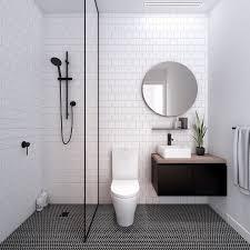 Bathroom:White Themed Bathroom With White Glass Tiles Also Modern Walk In  Shower Glass Bathroom
