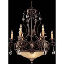 1 7181 9 241 savoy house chinquapin 9 light chandelier with moroccan bronze finish