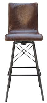 leather bar stools with arms. Jenna Swivel Leather Bar Stool Stools With Arms