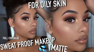 my extremely matte sweat proof oil proof full coverage makeup routine