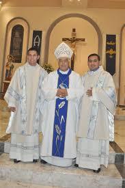 Fiestas del 71 Aniversario del Seminario: Nuevos diaconos para Tijuana: Aurelio  Chávez y Benjamín Bello.