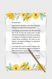 Yellow Floral Border Stationery Template Word Document