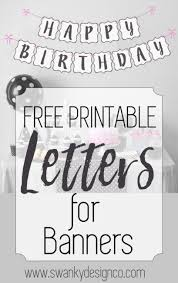 Happy Birthday Sign Templates Print Happy Birthday Sign Free Download Them Or Print