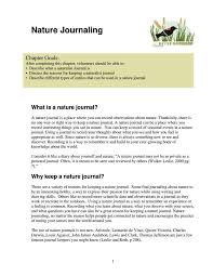 Nature Journal Template Barca Fontanacountryinn Com