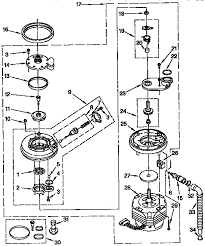 whirlpool du8950xy2 timer stove clocks and appliance timers du8950xy2 dishwasher pump and motor parts diagram