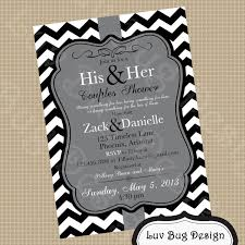 Bridal Shower Couples Wedding Shower Invitations Card