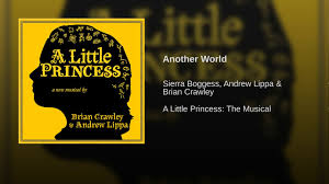 another world a little princess sheet music another world youtube