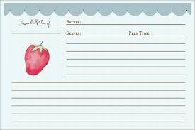 Recipe Card Templates Free Free 6 Recipe Card Templates In Word Pdf