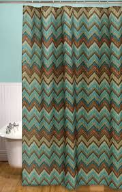 Western Shower Curtains Tribal Flamestitch Shower Curtain Lone