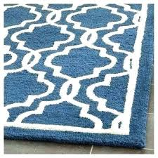 blue kitchen accent rug textured navy ivory x dark rugs teal area