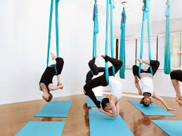 if you want to take your yoga practice to new heights check out one of the many nyc yoga studios offering ariel yoga this was on my to do list for