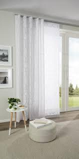 Hübscher Vorhang Mit Zartem Muster In Weiß Von Esposa Cortinas De