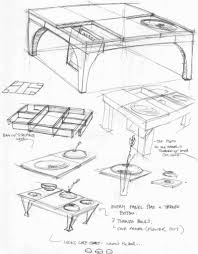 table design sketches. Delighful Table Picture Of Design Process Throughout Table Sketches