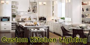custom kitchen lighting home. Use Custom Kitchen Lighting To Make Life Easier Custom Kitchen Lighting Home T