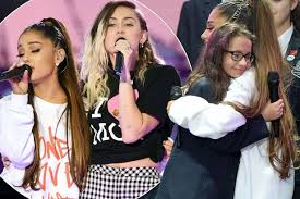 Image result for one love mcr ariana