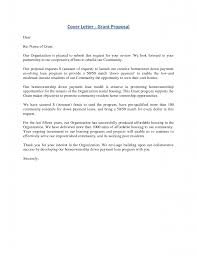 How To Write A Cover Letter For A Grant. sample cover letter for ...