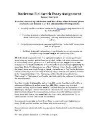 nacirema magazines nacirema fieldwork essay assignment pdf lent history