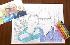 Wine In Touch With Turning A Picture Into Coloring Page Parkspfeorg