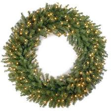 Outdoor Lighted Wreath