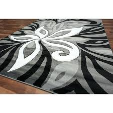cherine modern gray area rug grey