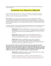 Objective On Resume objective for my resume micxikineme 69