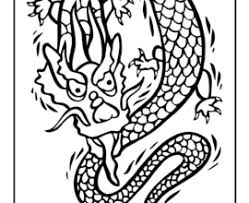 Small Picture Stunning Chinese Dragon Mask Coloring Pages Ideas Coloring Page