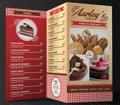 Cake Bake Shop Menu Fresh 27 Bakery Menu Templates Free Sample