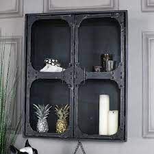 large retro industrial style metal wall