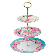 Teacup Display Stand Mixed Accents 100Tier Cake Stand Miranda Kerr For Royal Albert US 99