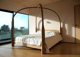 modern 4 poster bed. Simple Modern Superb Modern 4 Poster Bed Four Wooden Beds  King Double Inside T