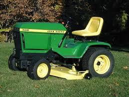john deere 300 series garden tractors