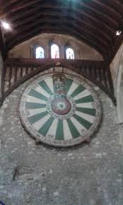 the great hall round table winchester castle